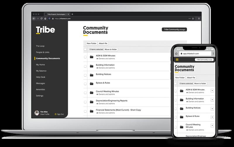 Tribe Property Technologies - Community Platform Software