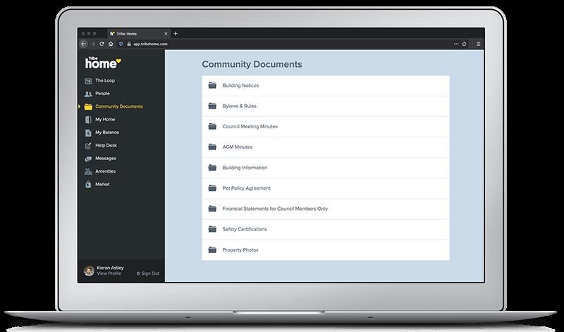 Tribe Home Community Platform - Tribe Property Technologies - Community Documents